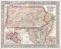 1864 Mitchell Map of Pennsylvania, New Jersey, Delaware and Maryland - Geographicus - PNNJMD-mitchell-1864.jpg