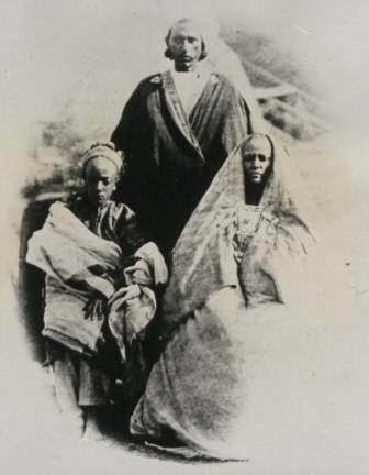 """1867-68 Ethiopia. Queen of the """"Oromos"""" and Son-The National Archives UK - CO 1069-5-49"""