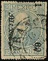 1869 25c Mexico ovpt Mexico DC Mi56 Yv45II.jpg
