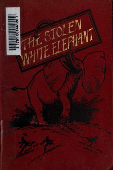 File:1882. The Stolen White Elephant, etc.djvu