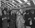 18e Internationale Huishoudbeurs door mevrouw Mansholt geopend, tijdens de rondg, Bestanddeelnr 914-8779.jpg