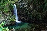 鼓ヶ滝。 所在地は兵庫県神戸市の有馬温泉。