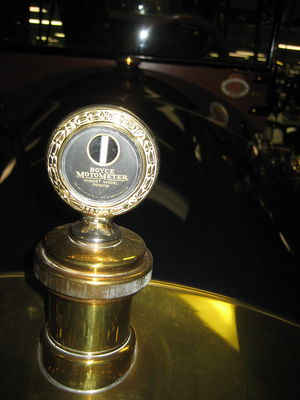 Hood ornament - 1913 Boyce MotoMeter