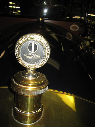 Boyce MotoMeter - A standard Boyce MotoMeter on a 1913 Car-Nation.