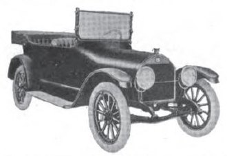 Imperial Automobile Company - Image: 1916Imperial