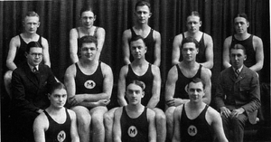 Michigan Wolverines swimming and diving - 1922 Michigan swim team