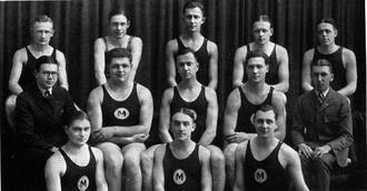 Michigan Wolverines swimming and diving - 1922 Michigan swim team