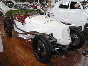 Tatra 12 - Tatra 12 Targa Florio replica