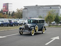 ford model a 1927 31 wikipedia Ford Model A Specs 1928 sedan with suicide doors in romania