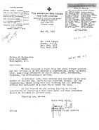 1935 Red Cross request for Duplicate Medal of Honor for John Otto Siegel