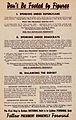 "1936 FDR ""Don't Be Fooled by Figures"" Re-election handbill.jpg"