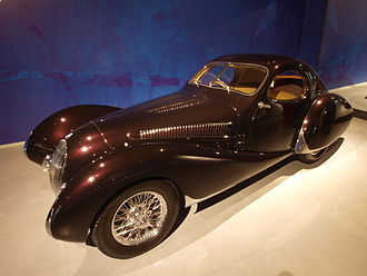 Talbot-Lago - 1937 Talbot Lago T150 SS. Teardrop Coupe bodywork by Figoni & Falaschi