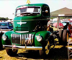 Cab over - Vintage COE: 1942 Chevrolet.