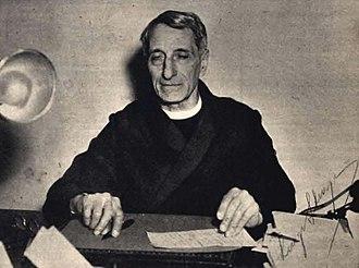 Luigi Sturzo - Sturzo on 18 November 1950.