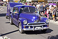 1953-1957 Holden FJ in the SunRice Festival parade in Pine Ave.jpg