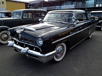 Dagmar bumpers - 1953 Mercury Monterey with Dagmars