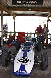 1962 Scirocco BRM SP-1 at Goodwood Revival 2012.jpg