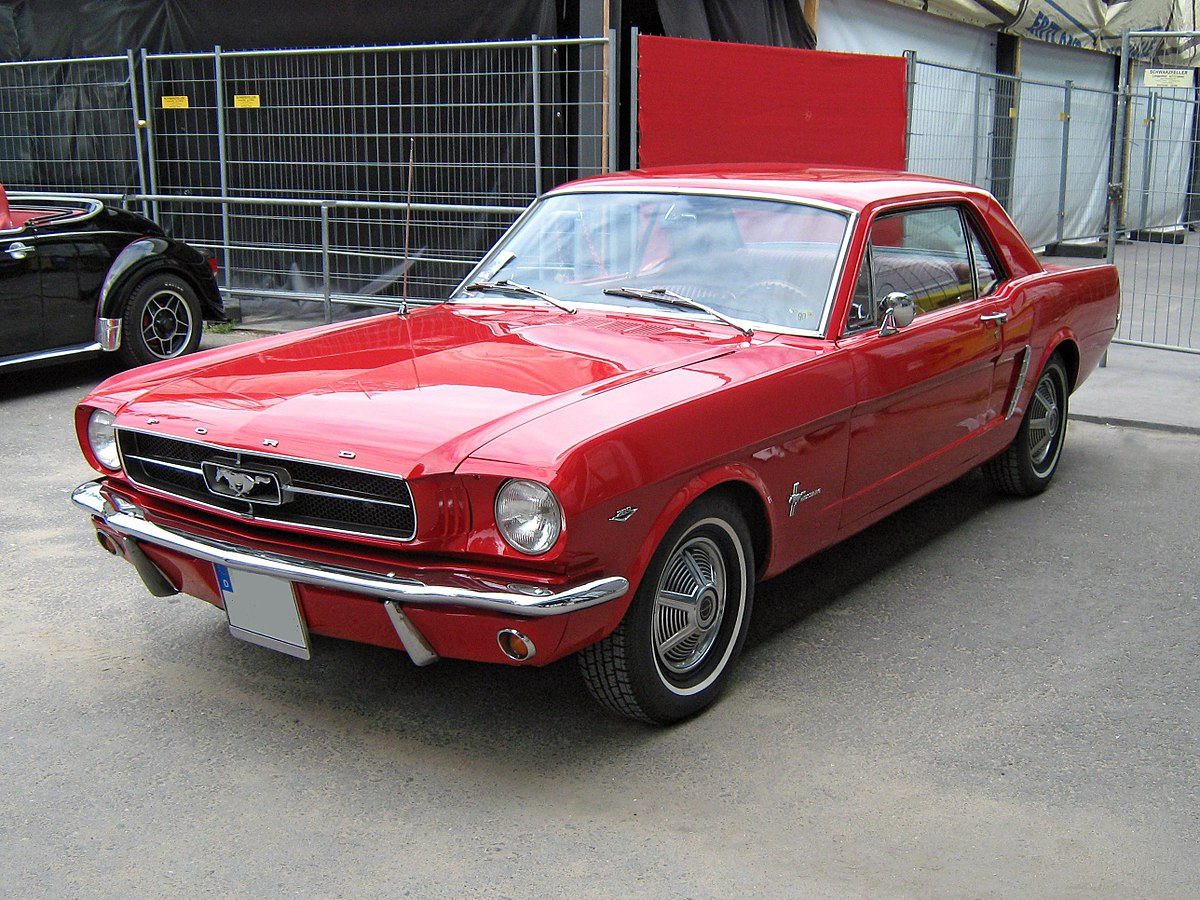 ford mustang 1964 wikipedia. Black Bedroom Furniture Sets. Home Design Ideas