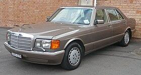 1987 1991 Mercedes Benz 300 Sel V 126 Sedan 2010