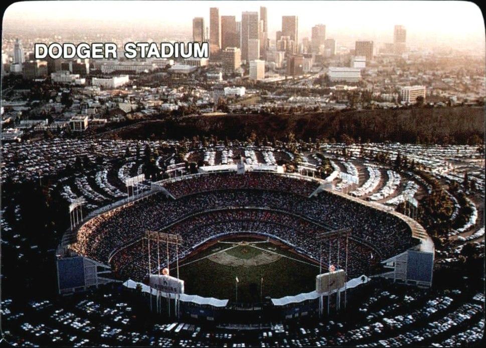 1987 Mother's Cookies - Dodger Stadium