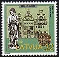 19971127 40sant Latvia Postage Stamp.jpg