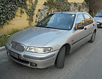 1997 Rover 400 - front.jpg