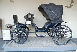Victoria (carriage) - Image: 19Carriage Blue Palacio CV