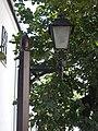 1 Rákóczi Road, courtyard lamp post, 2020 Sárospatak.jpg