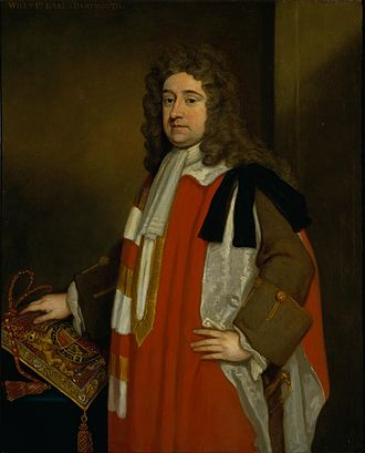 William Legge, 1st Earl of Dartmouth - Image: 1st Earl Of Dartmouth