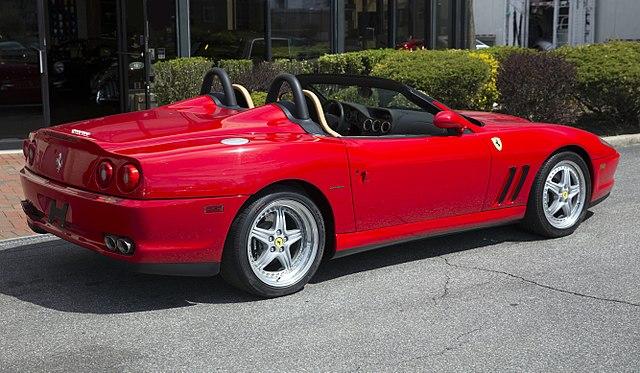 Ferrari 550 Barchetta Pininfarina (F133)