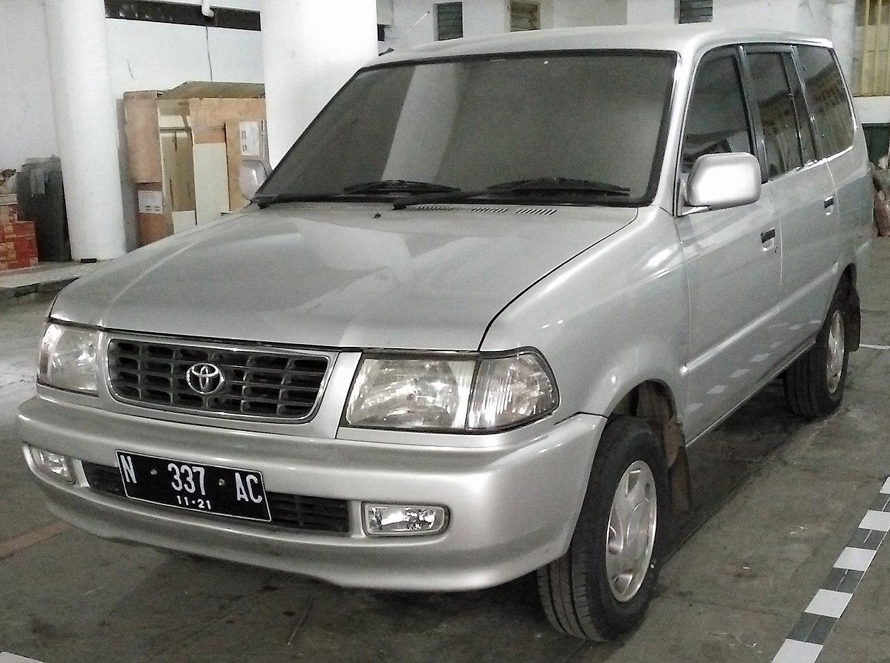 File 2001 Toyota Kijang Lgx  Malang Jpg