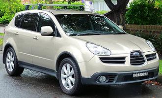 Subaru Tribeca - Image: 2006 2007 Subaru Tribeca (B9 MY07) R Premium Pack wagon (2011 11 17)
