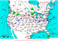 2007-05-21 Surface Weather Map NOAA.png