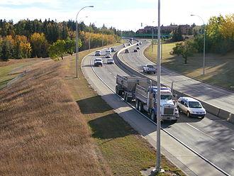 Transportation in Edmonton - Wayne Gretzky Drive