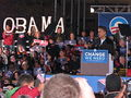 20081102 Obama-Springsteen Rally in Cleveland.JPG