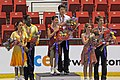 2009 JGP Lake Placid ice-dance Podium01.jpg