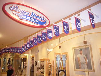 Roger Maris - The Roger Maris Museum in Fargo, North Dakota