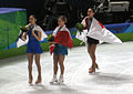 2010 Winter Olympics - Ladies Figure Skating winners cropped.jpg