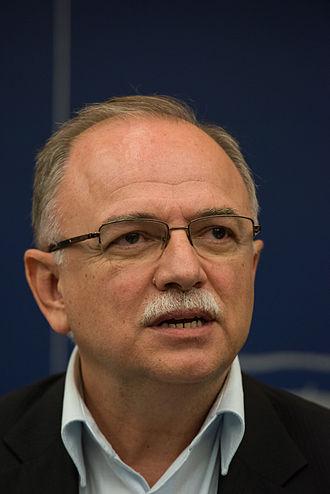Dimitrios Papadimoulis - Image: 2014 07 01 Europaparlament Dimitrios Papadimoulis by Olaf Kosinsky 11