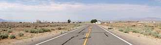 Currant, Nevada - Currant, Nevada viewed from westbound U.S. Route 6