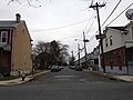2014-12-20 14 43 08 View southeast along Heil Avenue from Princeton Avenue (U.S. Route 206 southbound, U.S. Route 1 Business and Mercer County Route 583) in Trenton, New Jersey.JPG