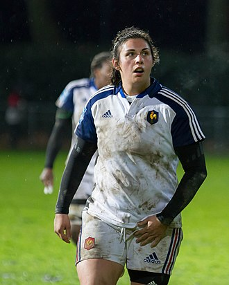 Elodie Portaries - Image: 2014 Women's Six Nations Championship France Italy (135)