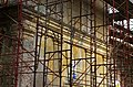 2014 giu Villa Pellegrini Marioni Pullè, Chievo, Verona, photo Paolo Villa back side FOTO6307BIS Doric - Tuscan order, wings, pilaster strip, door, window.JPG