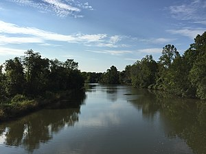 Croom, Maryland - The Patuxent River forms the eastern boundary of Croom