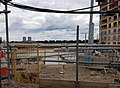 2016 Woolwich, Royal Arsenal, Waterfront construction site 25.jpg