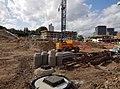2016 Woolwich, Trinity Walk, construction site 04.jpg
