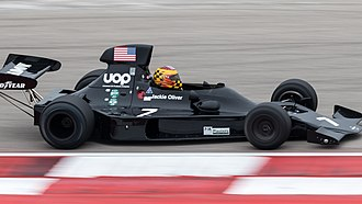 Shadow DN1 - Image: 2017 FIA Masters Historic Formula One Championship, Circuit of the Americas (23970311758)