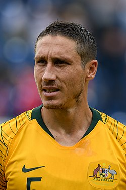 20180601 FIFA Friendly Match Czech Republic vs. Australia Mark Milligan 850 0206.jpg