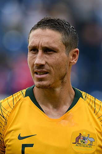 Mark Milligan - Milligan with Australia in 2018