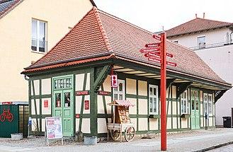 Angermünde - Image: 2018 04 Angermuende Stadtinfo IMG 0829